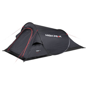 High Peak Campo Tent, black